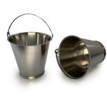 NEW - 12 Litre Bucket Made From 316L Stainless Steel