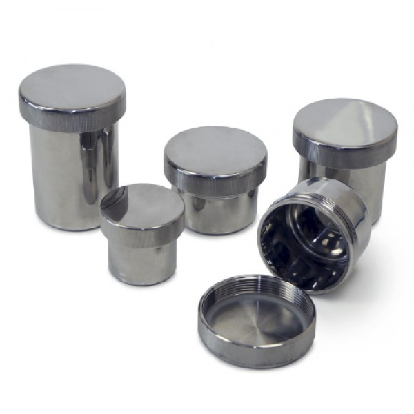 Powder Pots (316L Stainless steel) title=