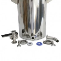 """Stainless Steel Drum with 1"""" Ferrule"""