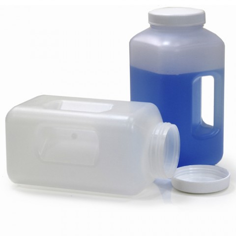 Wide Mouth Square Bottle