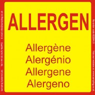 """Allergen"" Quality Control Labels"