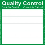Green Quality Control Labels