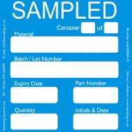"""Sampled"" Quality Control Labels"